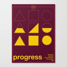 progress single hop Canvas Print