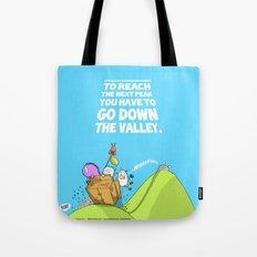 Life is like a mountain range Tote Bag