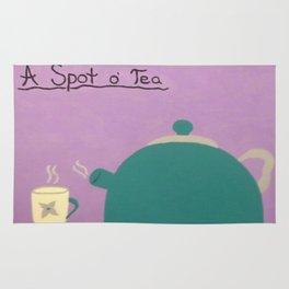 A Spot of Tea Rug
