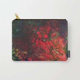 Red Center Glowing Core Carry-All Pouch