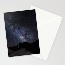 Milkyway at the mountains. Scorpius and Sagitarius Stationery Cards