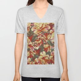 Exotic flowers Unisex V-Neck