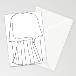 Line Drawing OOTD Stationery Cards