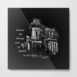 The local creepy house Metal Print