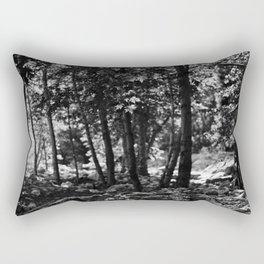 Through the Trees Rectangular Pillow