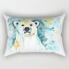 Polar Bear - Like a Boss Rectangular Pillow
