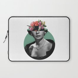 Jean simmons Floral Laptop Sleeve