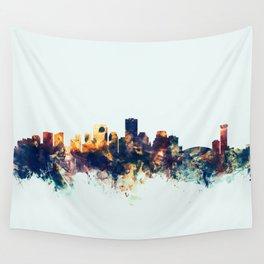 New Orleans Louisiana Skyline Wall Tapestry
