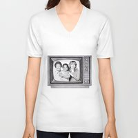 arnold V-neck T-shirts featuring Arnold & willy by label tania