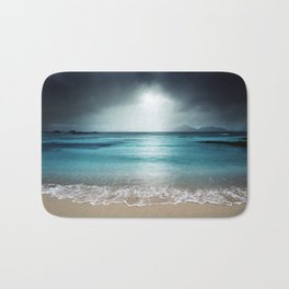 Stormy Beach Bath Mat