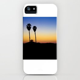 Hopped off the plane at LAX iPhone Case