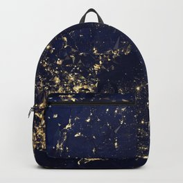 Gold Map abstraction Backpack