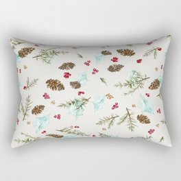Winter walk Rectangular Pillow