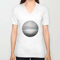 sailing V-neck T-shirts featuring Sailing by Benedek Varga