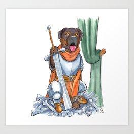 DogDays19 Pica Art Print