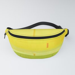 Yellow + Green Fanny Pack