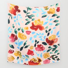 Spring Florals Wall Tapestry