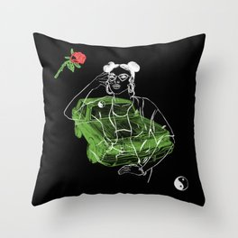 Roses Really Smell Like... Throw Pillow