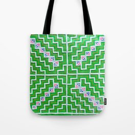 Green hmong Tote Bag