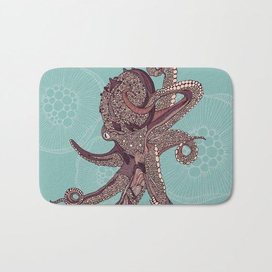 Octopus Bloom Bath Mat