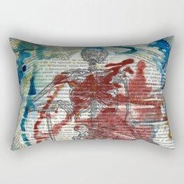 Vesalius Grave digger Rectangular Pillow