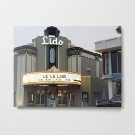 Lido Theatre - Newport Beach Metal Print