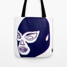 Lucha Libre Mask Tote Bag