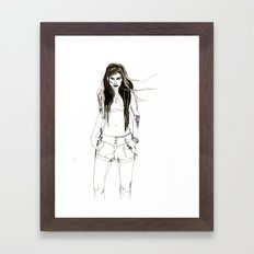 Bitter sweet Framed Art Print
