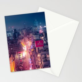 Retro Future Tokyo Stationery Cards