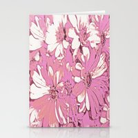 daisy Stationery Cards featuring Daisy  by Saundra Myles