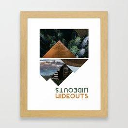 Hideouts Framed Art Print