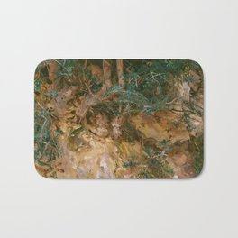 Valdemosa, Majorca: Thistles and Herbage on a Hillside, 19 Bath Mat