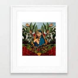 Frida V Framed Art Print
