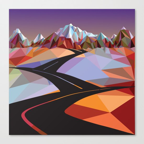 Night Mountains No. 42 Canvas Print
