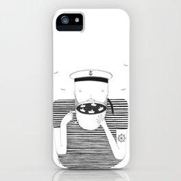 El marinero cafetero iPhone Case