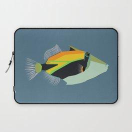 humuhumunukunukuapua'a reef trigger fish Laptop Sleeve