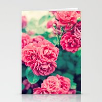 flora Stationery Cards featuring Flora by Laura Ruth