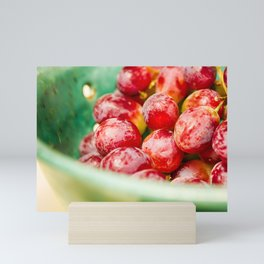 Red Grapes Mini Art Print