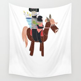 Zapatistas Ride Wall Tapestry