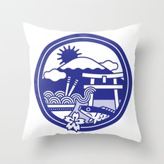 Japan Throw Pillow