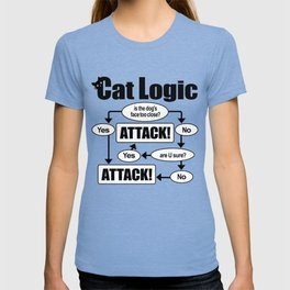 Cat Logic: Attack! T-shirt