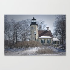 Lighthouse in Whitehall Michigan No 174 Canvas Print