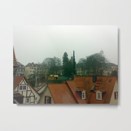 Travel to the cities of Germany Metal Print