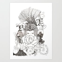 Bake. Art Print