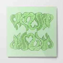 Tentacle heart Metal Print