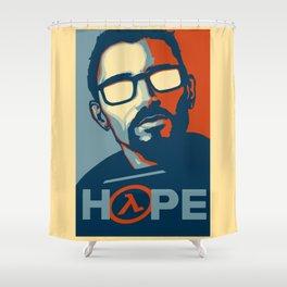 Half Life Hope Shower Curtain