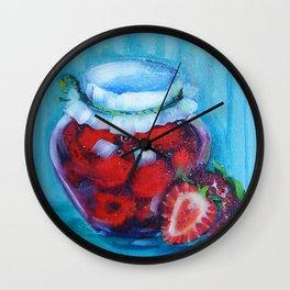 Jam jar Wall Clock