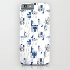 Robot Girl Cubism iPhone 6s Slim Case