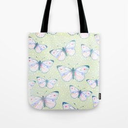 vintage butterfly pattern Tote Bag