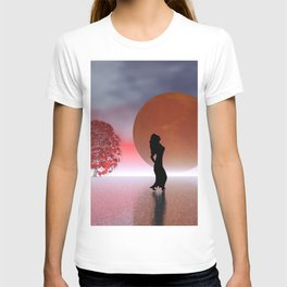 enjoy the full moon T-shirt